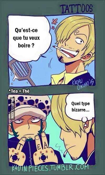 Tea = Thé
