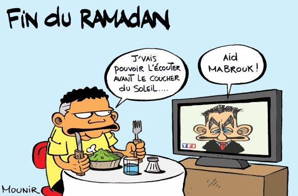 Sarkozy et le ramadan
