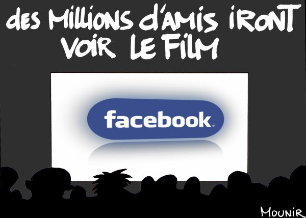 Facbook au ciné
