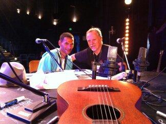 Rencontre avec Frank Margerin chez Radio Lucien