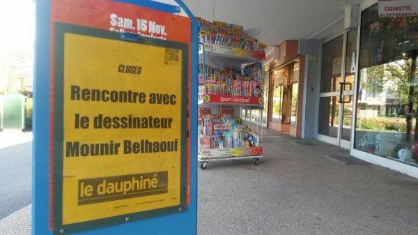 Mounir Belhaoui pour le Dauphiné Libéré