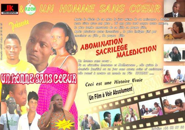 FILM  IVOIRIEN    UN HOMME SANS COEUR