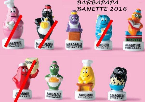 BARBAPAPA BANETTE 2016