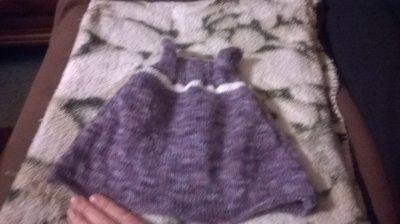 Petite robe taille 3 mois