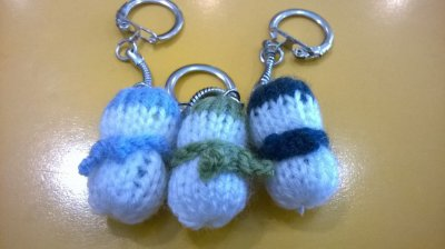 mes derniers tricots en cours