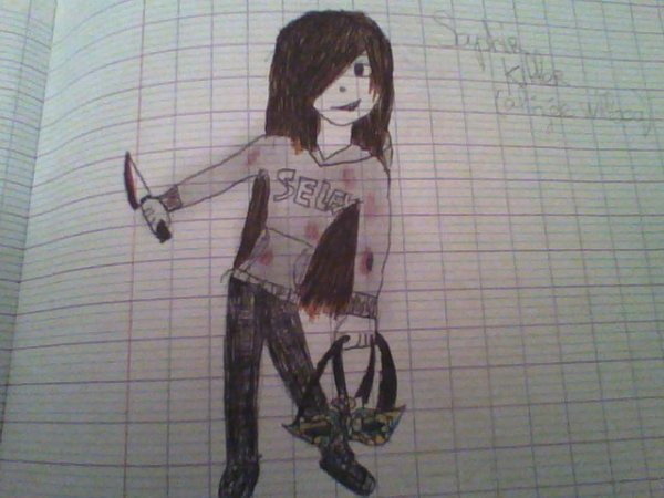 dessin de saphir killer