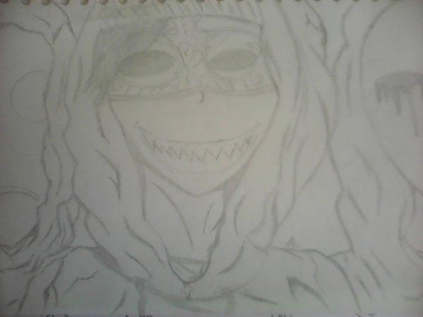 Hoody . Saphir killer . Eyeless Jack