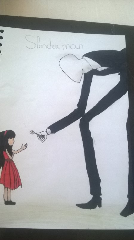 slenderman fan art