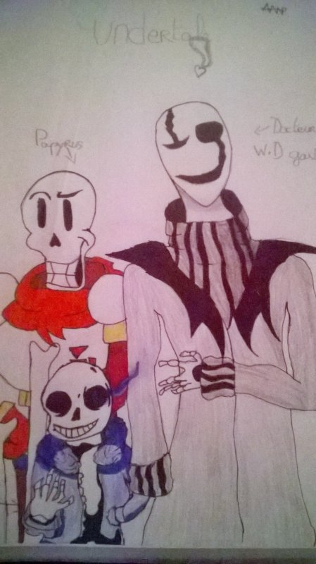 UNDERTALE dessin fan art ^w^
