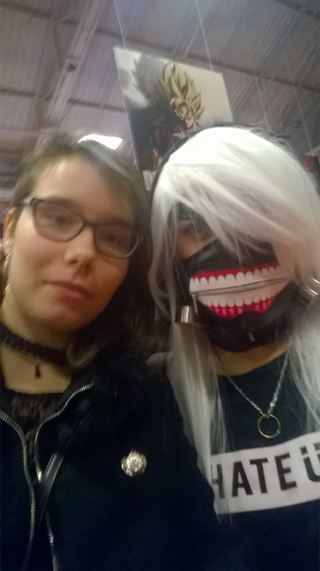 un cosplay tokyo goulh féminin j'ai pensé AkumaYoru directe ^w^