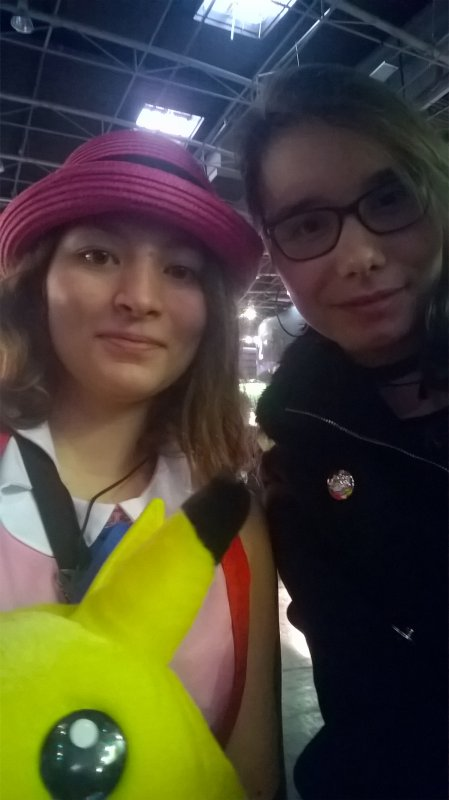 Serena dans Pokémon mais on vois pas trop pikachu ^w^