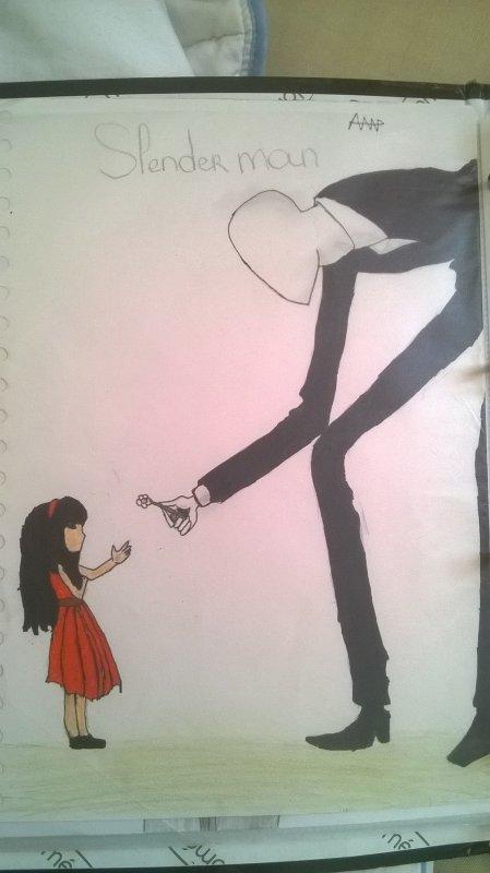 petite fille : une fleure pour moi merci monsieur