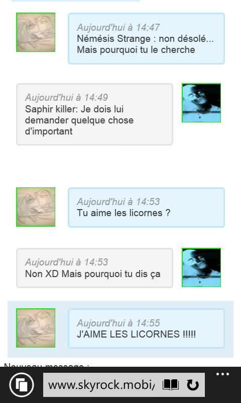 la maturité Nemesis-Strange XD #Licorne
