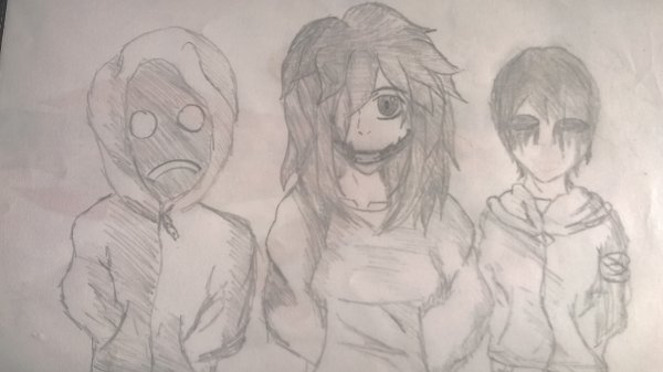 Hoody , jeff the killer et eyeless jack