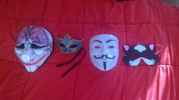 ma mini collection de masque ^w^