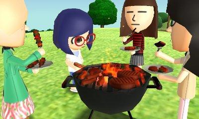 barbecu avec frisk