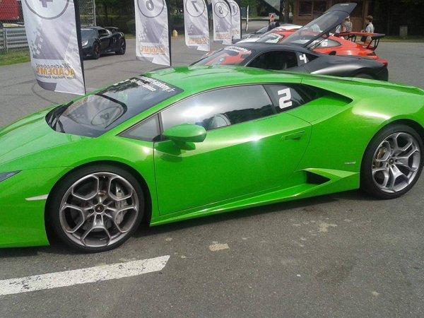 Pilotage Lamborghini Huracan :) :)