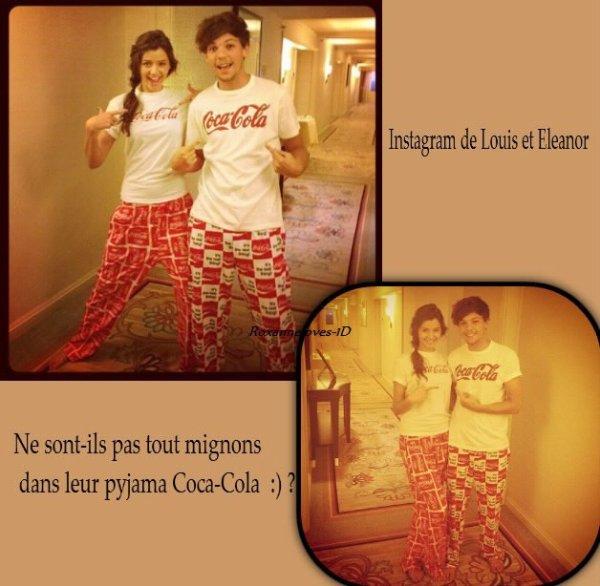 Nouvelles photos de Louis et Eleanor !