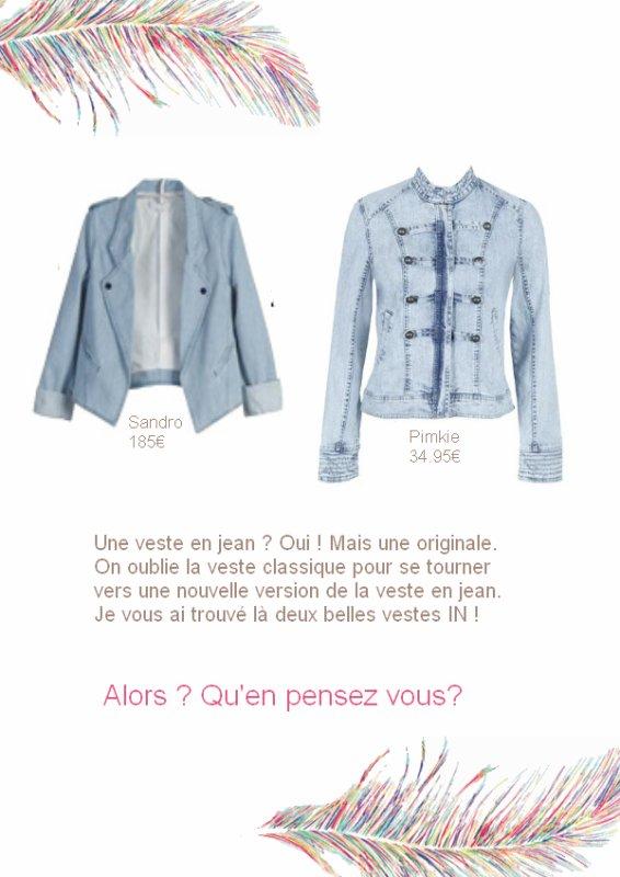 Quelle veste en jean choisir ?