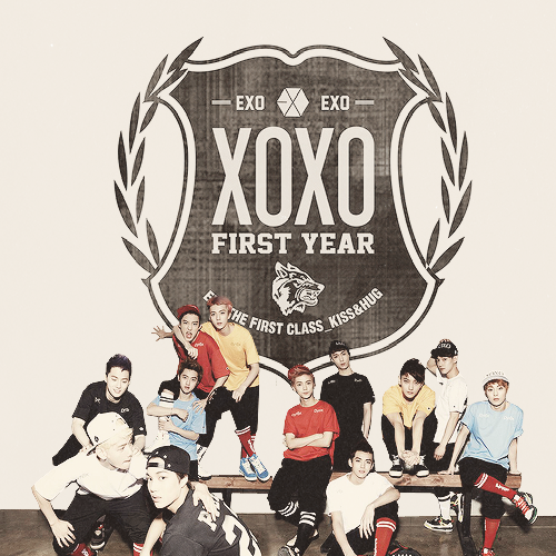 XOXO (Kiss) / Let Out The Beast - EXO-K (2013)