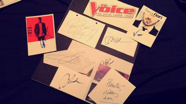 Collection spéciale The Voice !