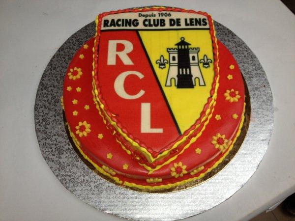 gateau fraisier RC Lens