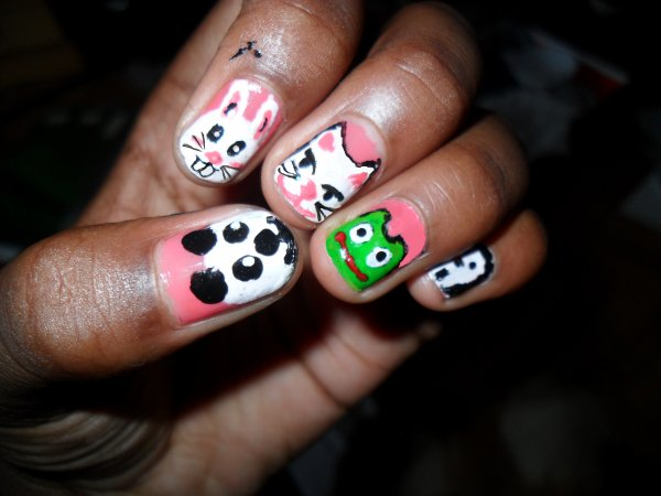 Pets Nail Art...