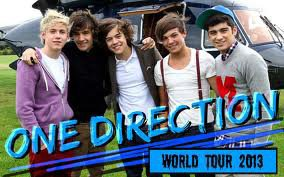 One Direction - 2013 Tour tickets! June 13-14, 2013 in Miami
