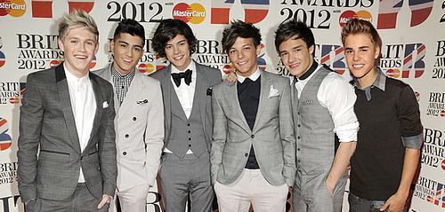 One Direction et Justin Bieber sont pré-nommés aux NRJ Music Awards 2013
