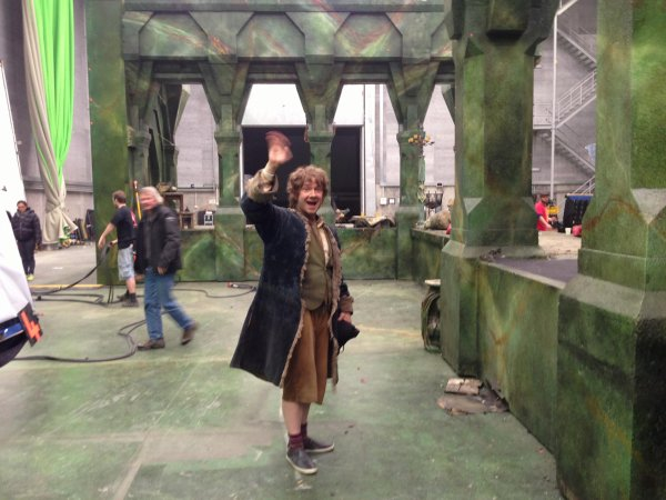 Fin du tournage du Hobbit