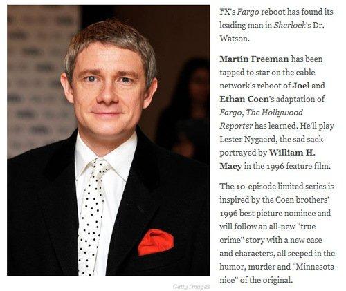 Un rôle dans une série pour Freeman !