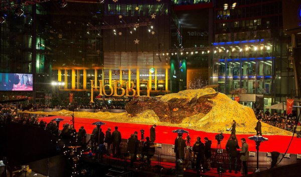 The Desolation of Smaug Red Carpet pour l'avant-première à Berlin