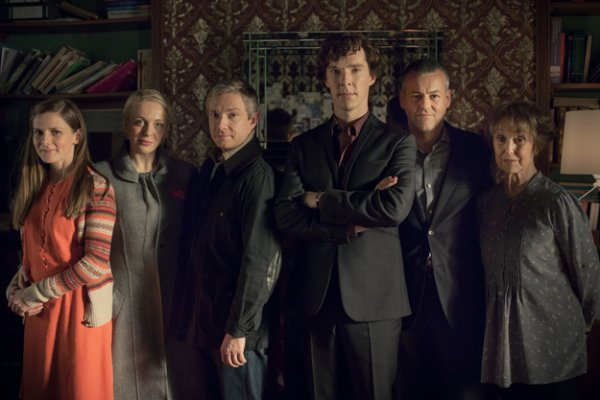 7 récompenses aux Emmy Awards pour l'équipe de Sherlock !