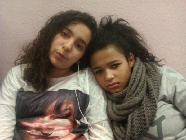 moi et melissa ;)