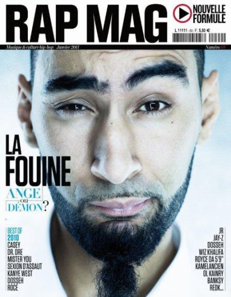 La Fouine en couverture de Rap Mag