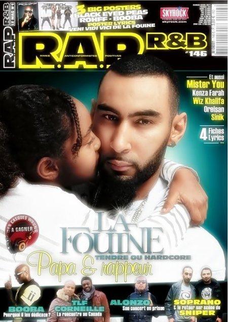 La Fouine en couverture de R.A.P R&B