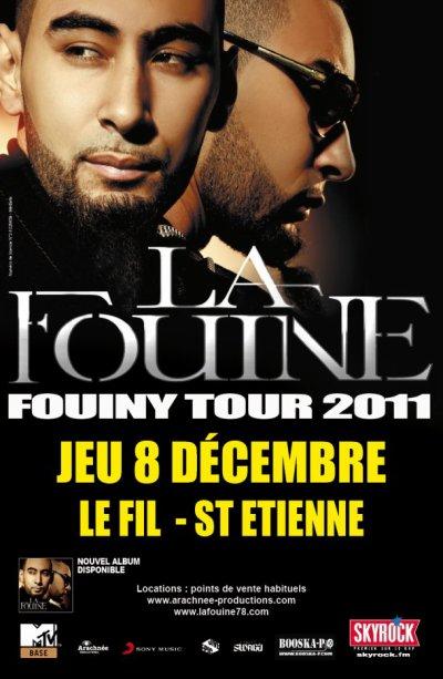 La Fouine en concert