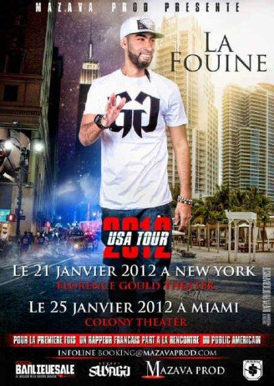 La Fouine commence bien l'année 2012