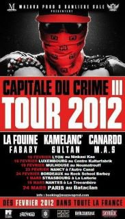 Capitale du crime III Tour 2012