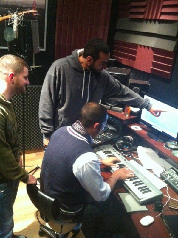 La fouine en studio ..