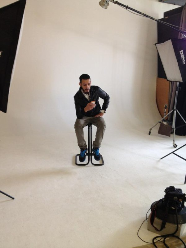 Canardo  En mode interview pour RAP magasine