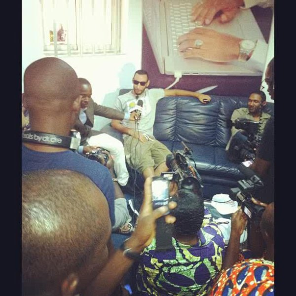 La Fouine en interview ..