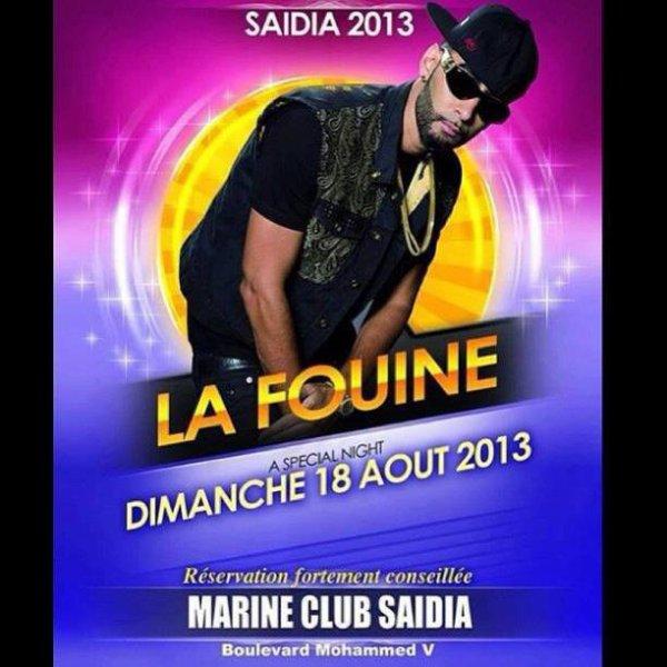 La Fouine en concert au Maroc