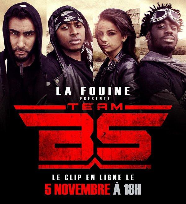 1er extrait du prochain projet de La Fouine #TeamBS
