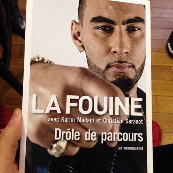 Le 1er livre de La Fouine sort demain