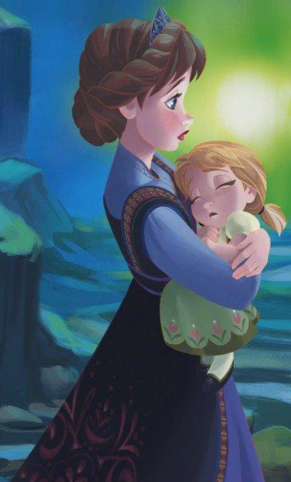"""♪ Une photos de la Reine et de sa fille """"Anna"""" *.* ♫"""