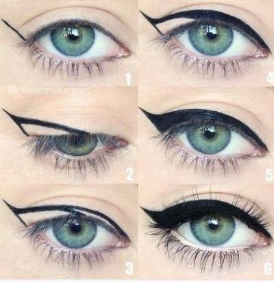 ♥ Comment faire sont trait d'eyeliner ♥