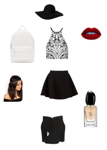 Outfits du mois d'Août n°7 (look école)