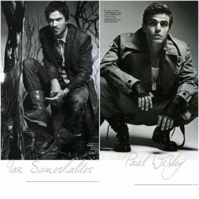 Paul & Ian parmi les 100 célébrités les plus sexy au monde !