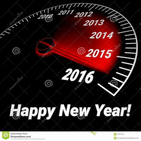 Bonne année @ tous !!!